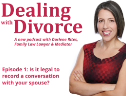 Dealing with Divorce Podcast - Darlene Rites